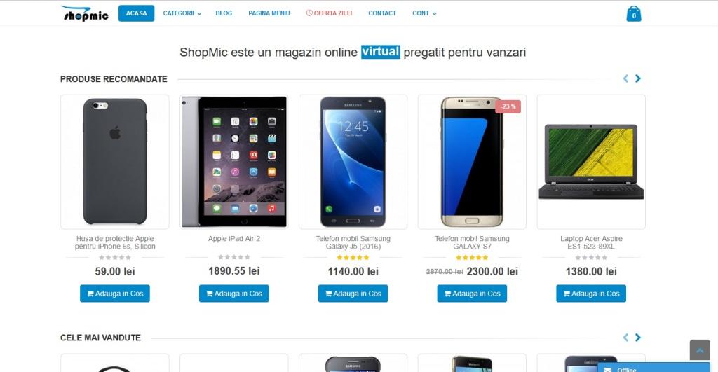 ShopMic magazin online la cheie