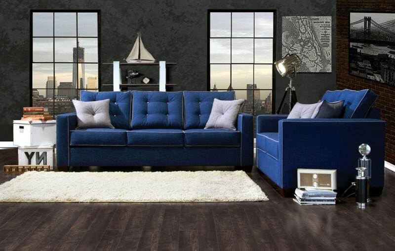Cum alegi canapelele albastre
