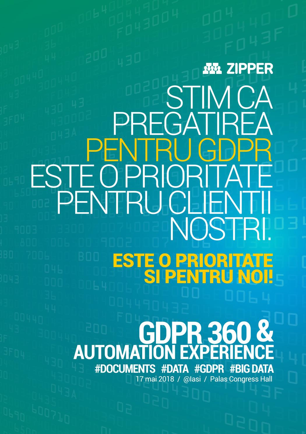 Zipper-Romania---GDPR360&Automation-Experience-@Iasi