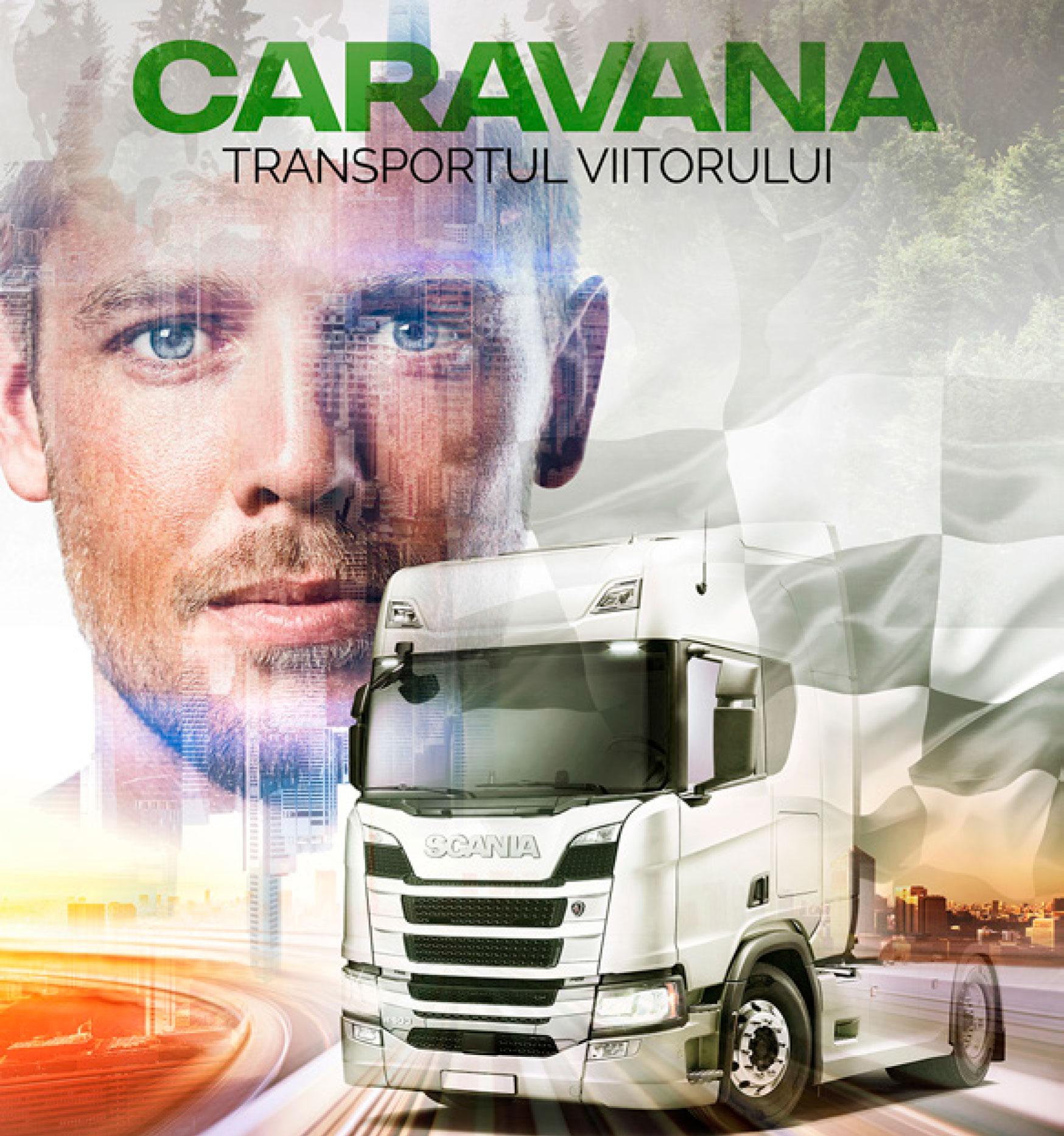 caravana transportul viitorului