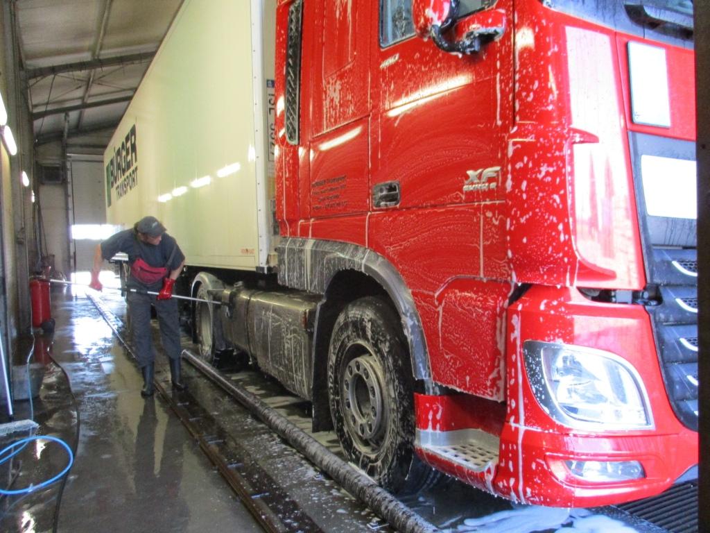 spalatorie camioane Bucuresti