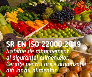 O nouă ediție a standardului pentru siguranța alimentară