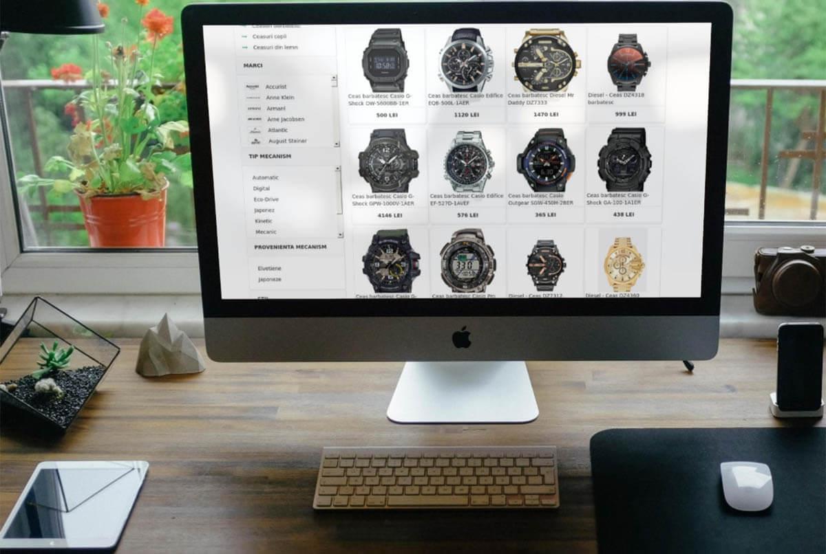 filtre avansate WatchStores.ro