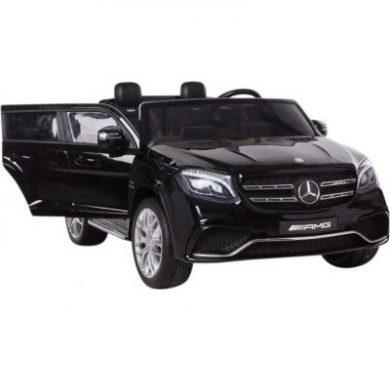 Masinuta electrica cu doua locuri mercedes GLS63 AMG black