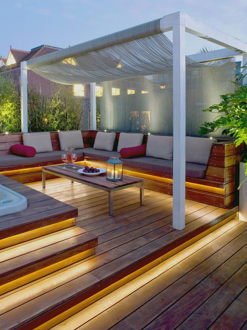 parchet de exterior decking