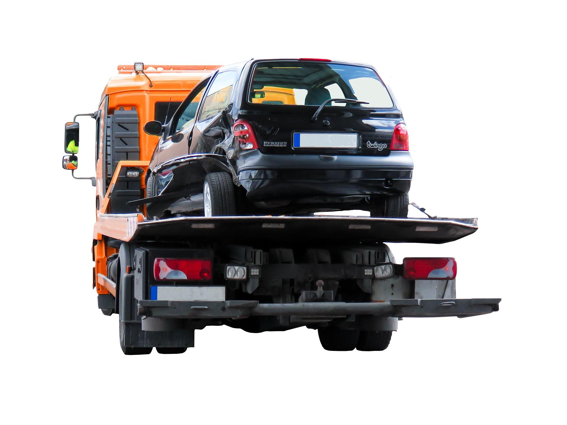 transport cu platforma auto