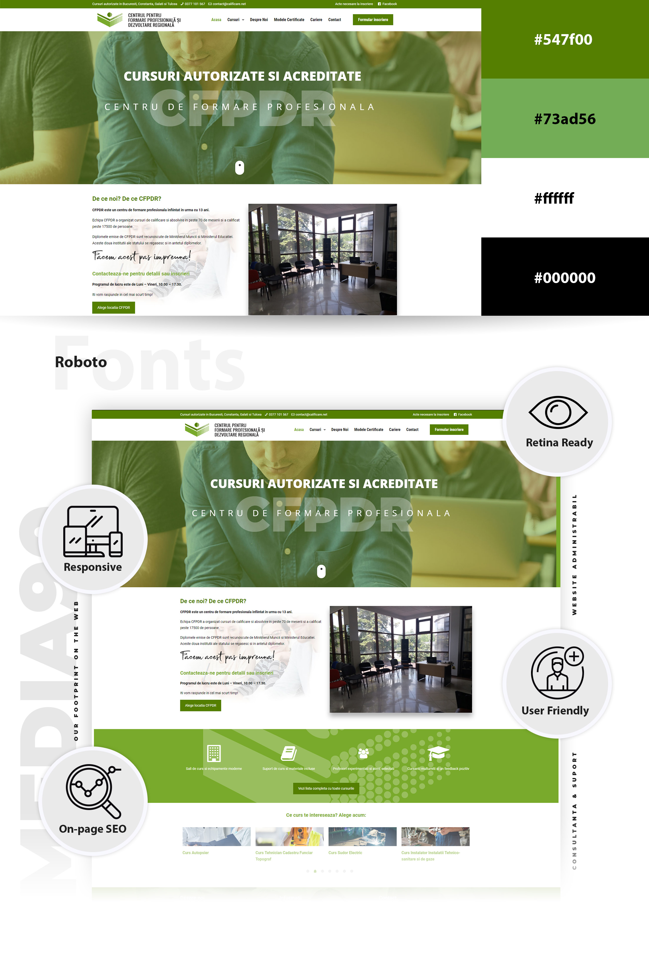 Creare site web Media90
