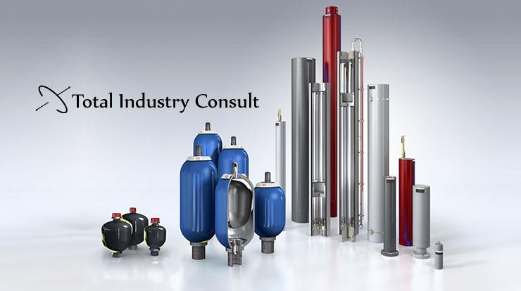 Total Industry Consult, premieră în România - Suntem noi în online, dar deja vindem la prețuri legendare acumulatori și cuple rapide hidraulice