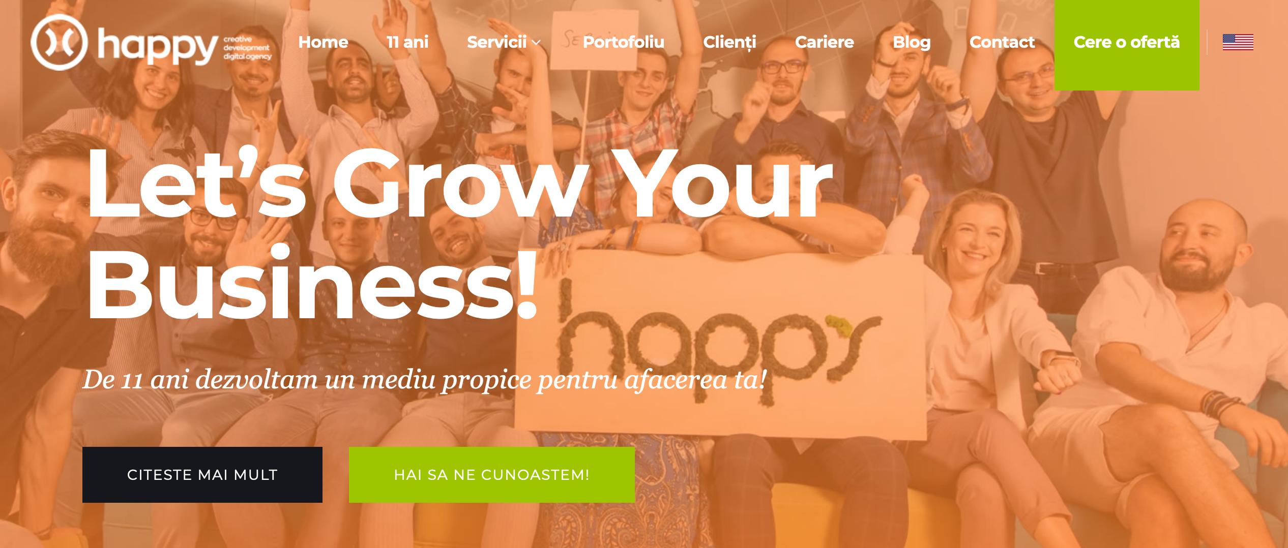 agentie web design happyadv