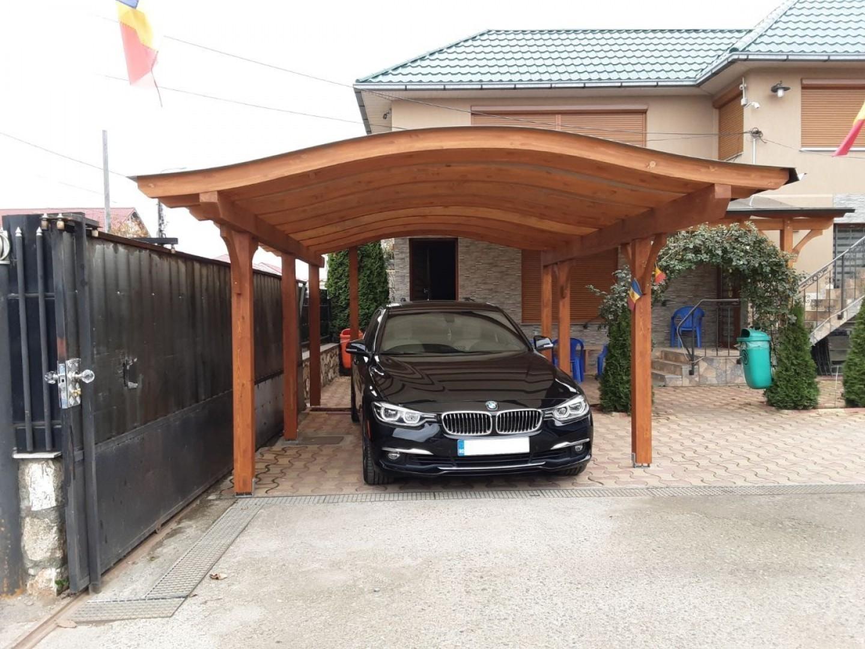 carport lemn