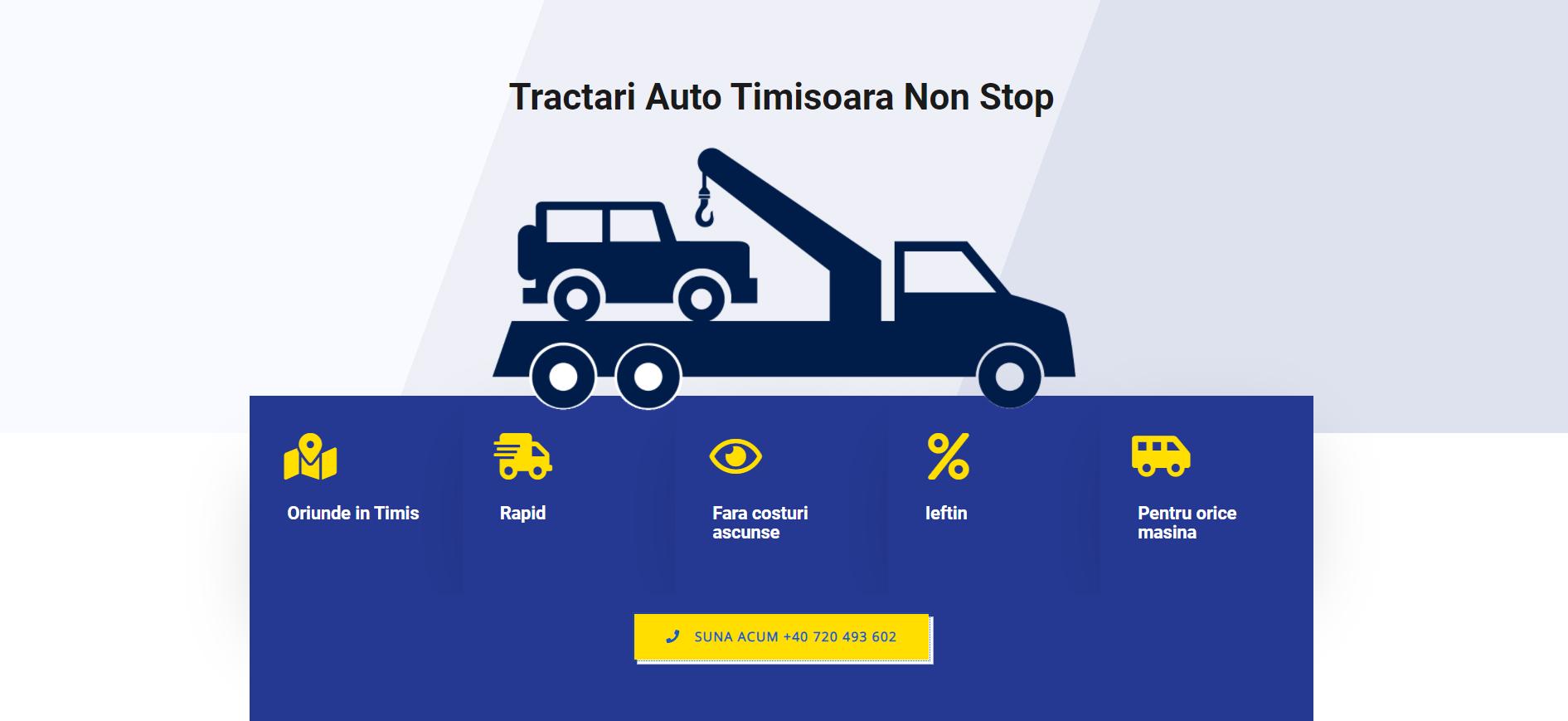 Imagine preluata de pe site-ul firmei de tractari Lotzi Tractari Auto Timisoara